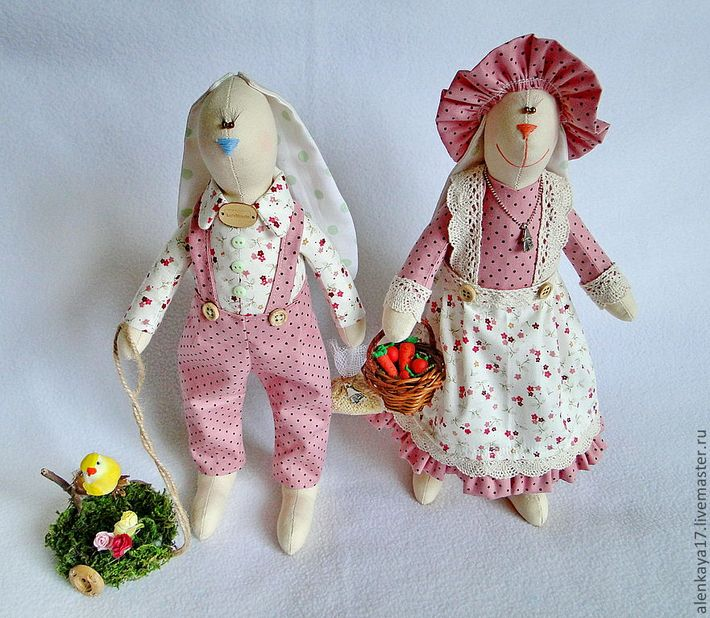 Куклы тильды зайка